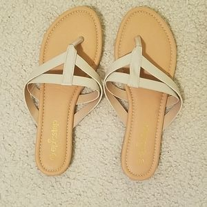 Sand Colored Sandals